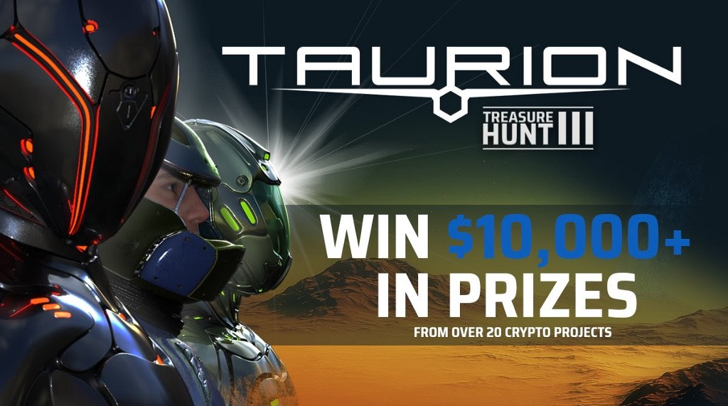Get a FREE Starter Pack for Taurion Treasure Hunt #3